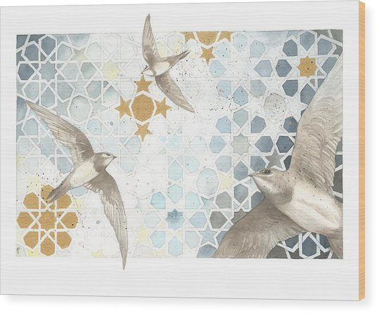 Swifts Of Cihangir Wood Print