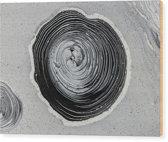 Swirls Wood Print