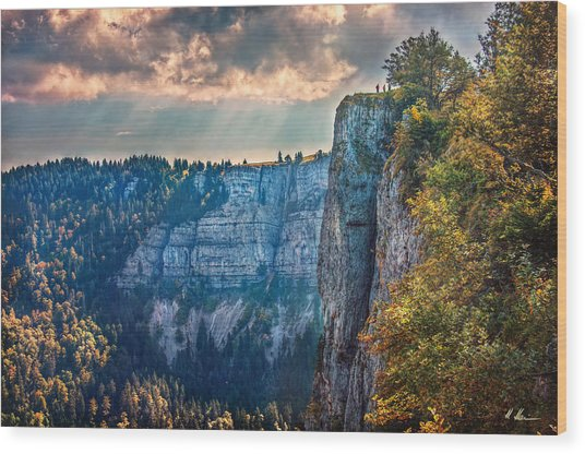 Swiss Grand Canyon Wood Print