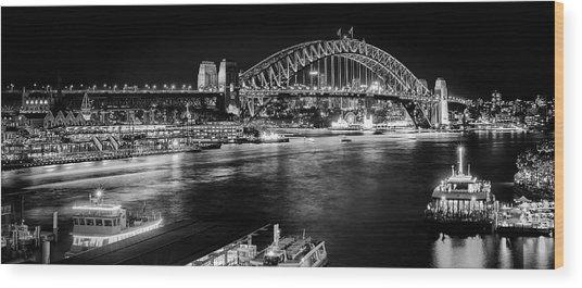 Sydney - Circular Quay Wood Print