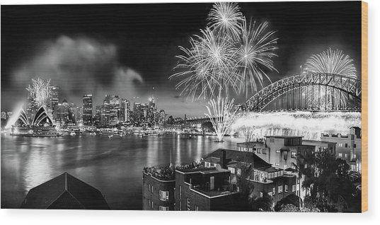 Sydney Spectacular Wood Print