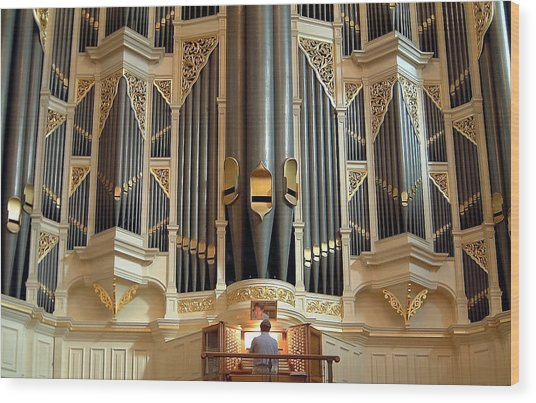 Sydney Town Hall Organ Wood Print