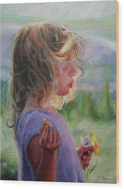 Sylvia Wood Print