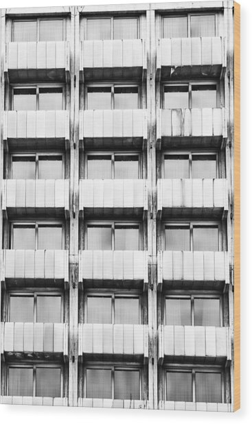 Symetry Wood Print by Gabriela Insuratelu