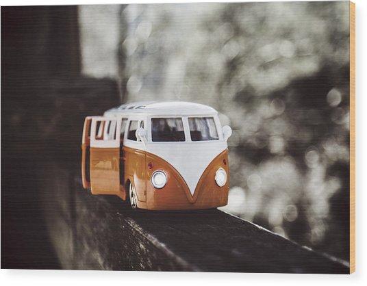 T1 Volkswagen Wood Print