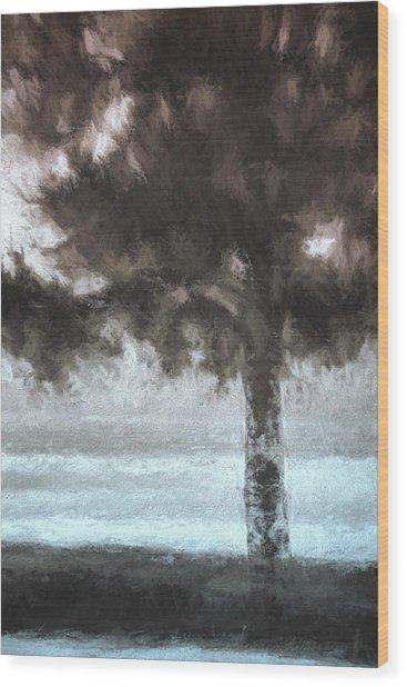Tahoe Pine Painterly Effect Wood Print