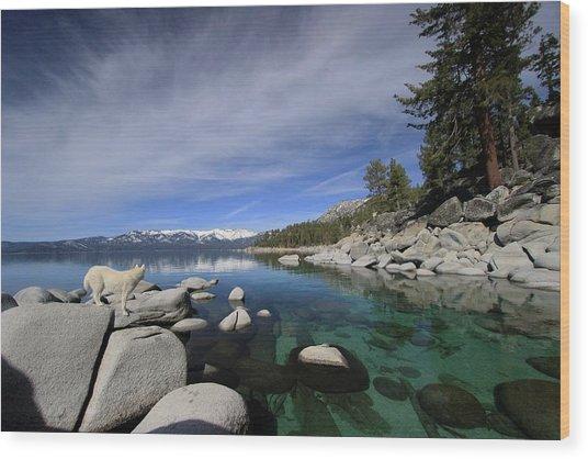 Tahoe Wow Wood Print