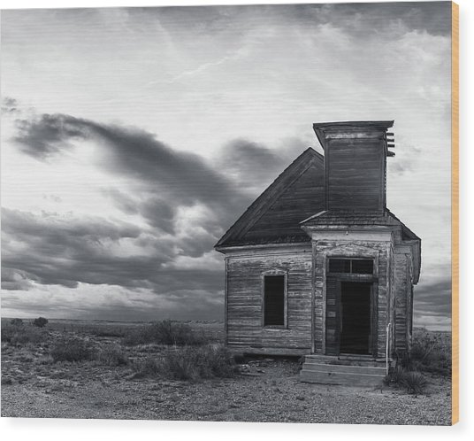 Taiban Presbyterian Church, New Mexico #3 Wood Print