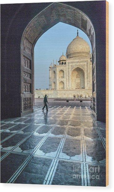 Taj Mahal 01 Wood Print
