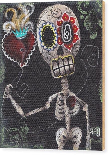 Take My Heart Wood Print