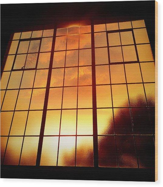 Tall Windows #1 Wood Print by Maxim Tzinman
