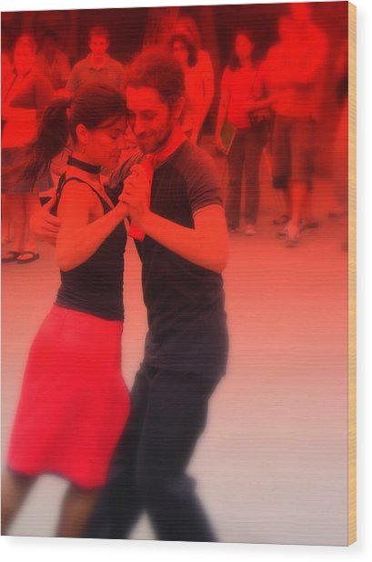 Tango Catalan Wood Print