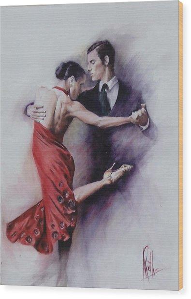 Tango Quartet 4/4 Wood Print