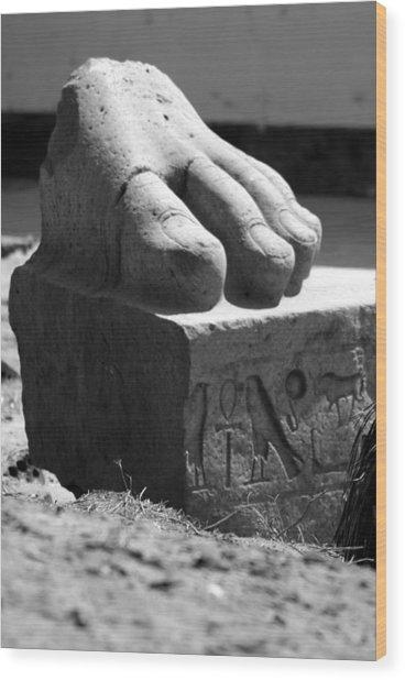 Tanis Foot Wood Print