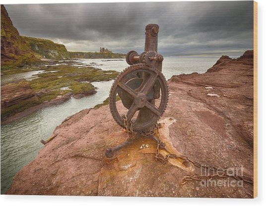 Tantallon Castle Views Wood Print
