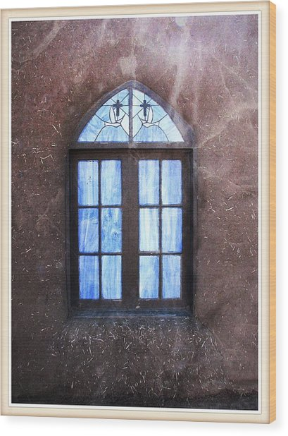 Taos, There's Something In The Light 4 Wood Print