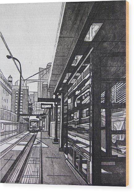 Target Station Wood Print