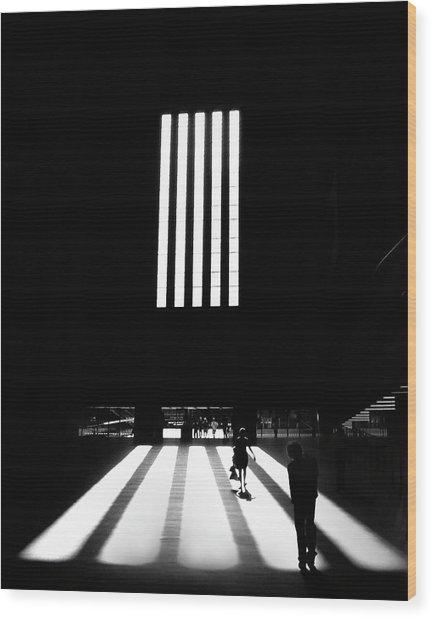 Tate Modern Wood Print