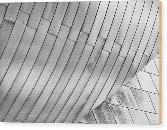 Taubman Museum Abstract Wood Print