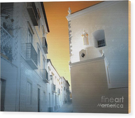 Tavira Wood Print by Alfonso Garcia