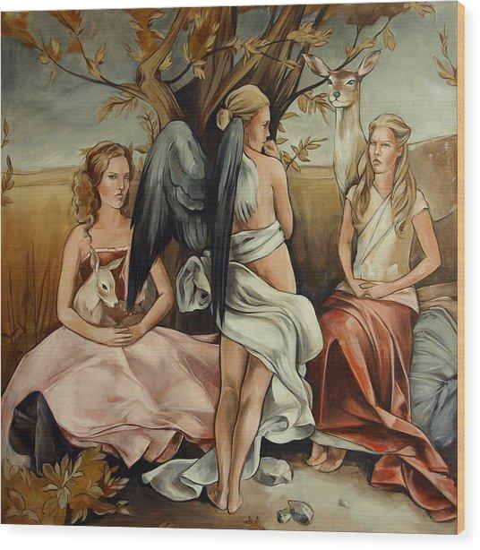 Teaching Mysticism Wood Print