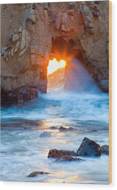 Tears Of The Sun Wood Print