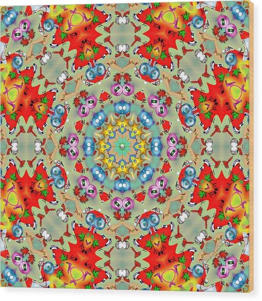 Teddy Bear Tears 420k8 Wood Print by Brian Gryphon