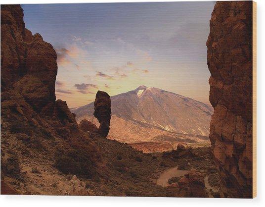 Teide - Tenerife Wood Print