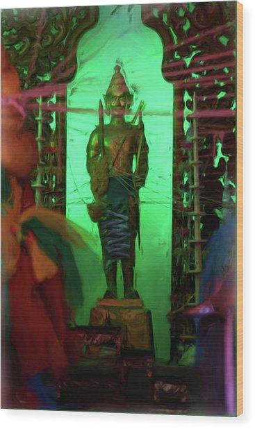 Temple 3 Wood Print