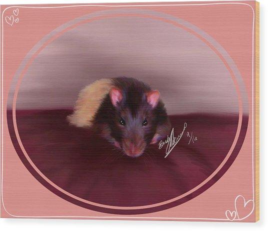 Templeton The Pet Fancy Rat Wood Print