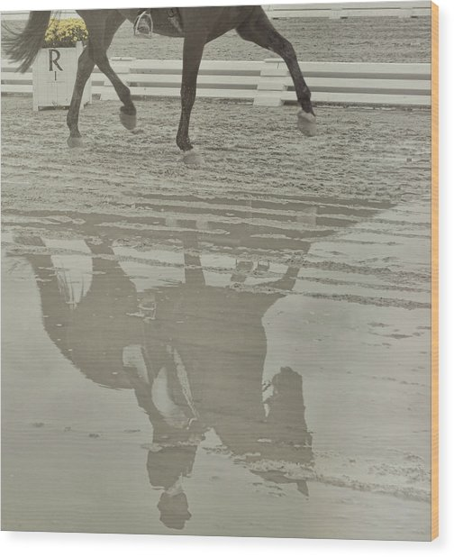 Tempo Reflected Wood Print by JAMART Photography