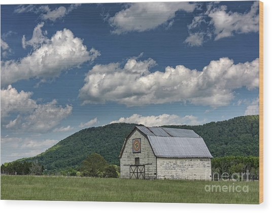 Tennessee Barn Quilt Wood Print