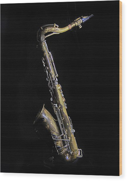 Tenor #2 Wood Print