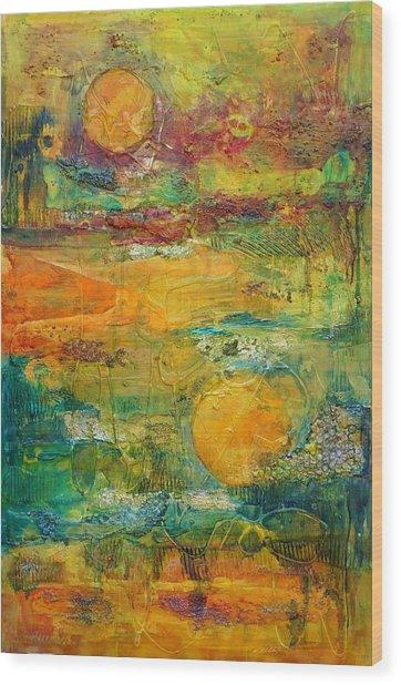 Terra Firma 2 Wood Print