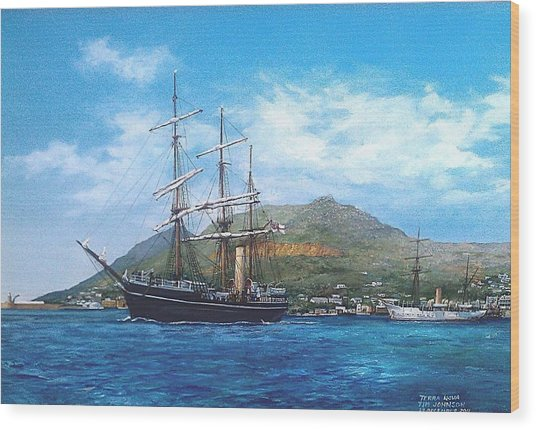 Terra Nova Wood Print