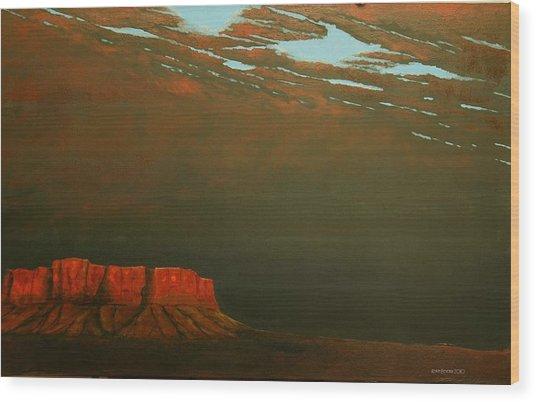 Terra Rosa Wood Print