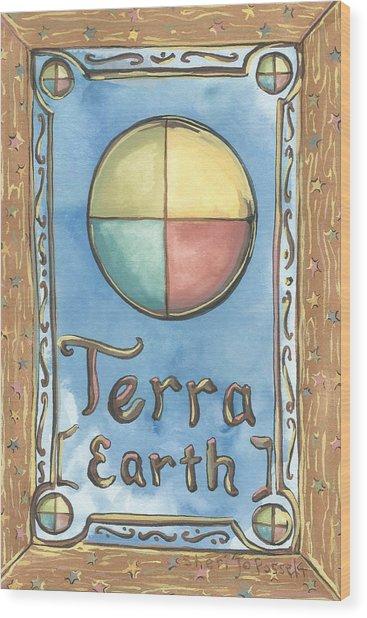 Terra Wood Print