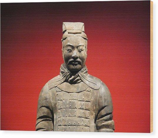 Terracotta Warrior Army Of Qin Shi Huang Di I Wood Print