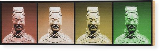 Terracotta Warrior Army Of Qin Shi Huang Di - Royg Wood Print