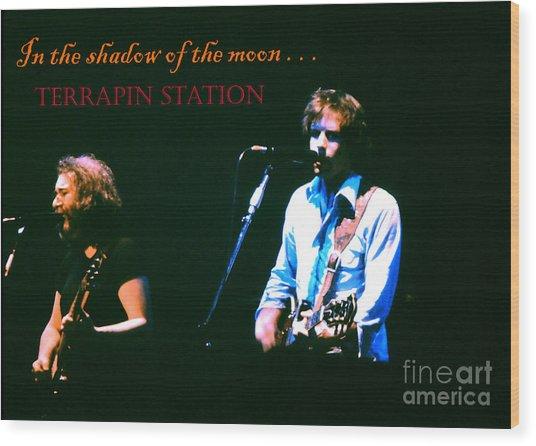 Terrapin Station - Grateful Dead Wood Print