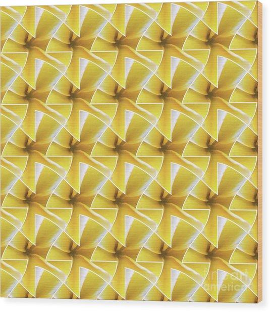 Tessel Flower Wood Print
