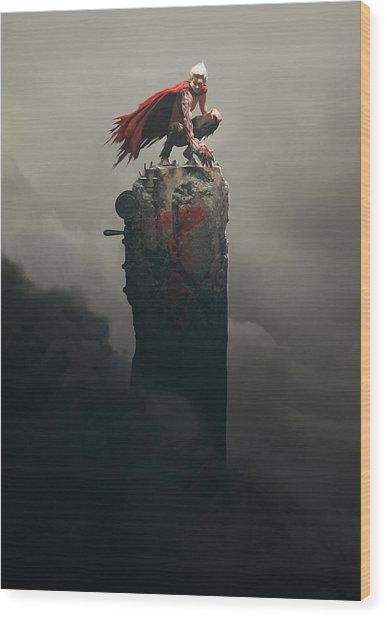 Tetsuo Shima Wood Print