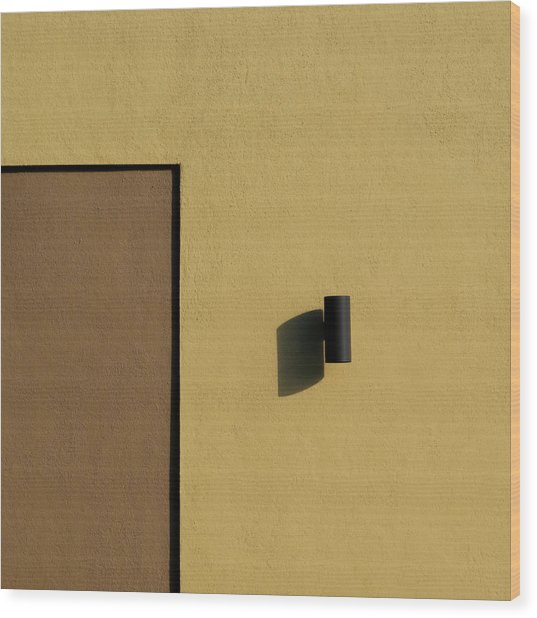 Texas Shadow Wood Print