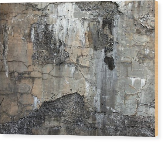 Textures Wood Print by Robert Knight