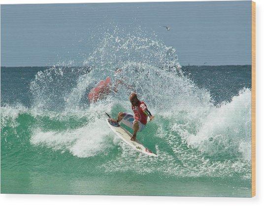That Kelly Slater Wave Magic Wood Print