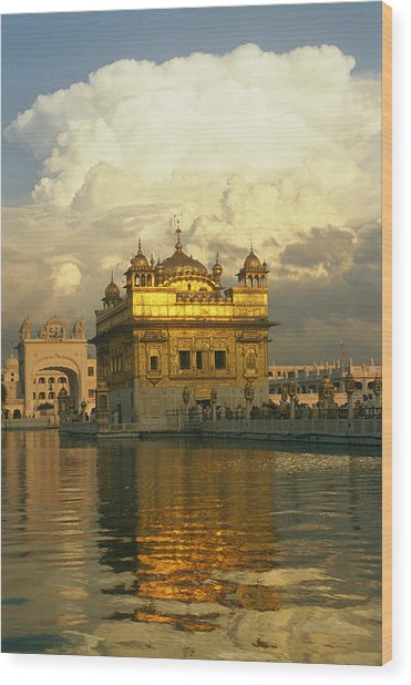 The 16-th Century Golden Temple Wood Print
