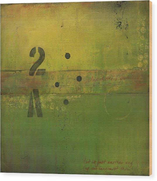 The 2a Wood Print