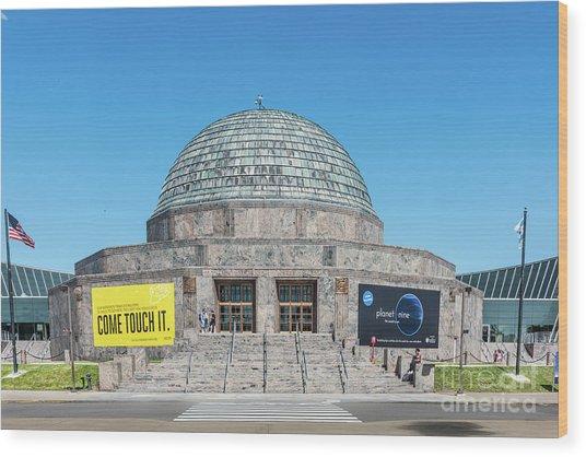 The Adler Planetarium Wood Print