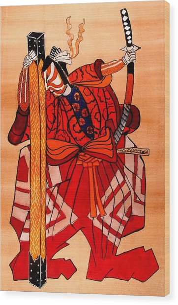 The Age Of The Samurai 04 Wood Print