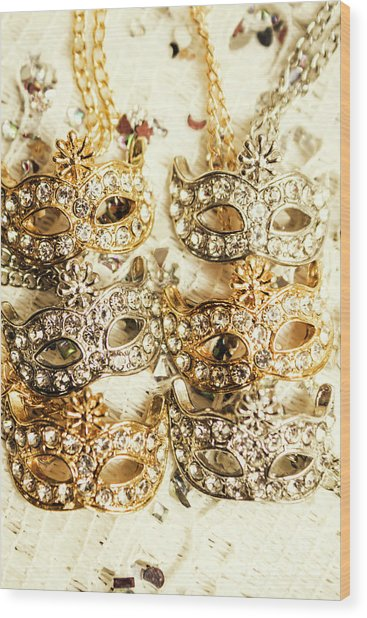 The Antique Jewellery Store Wood Print